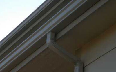 downspouts and gutters